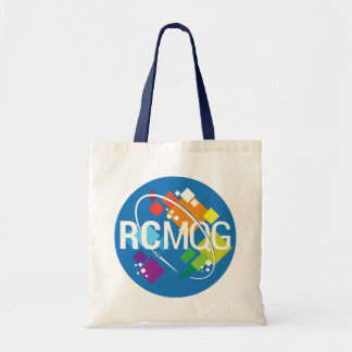 Rocket City Modern Quilt Guild Logo Basic Tote Bag