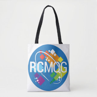 Rocket City Modern Quilt Guild Logo Tote Bag