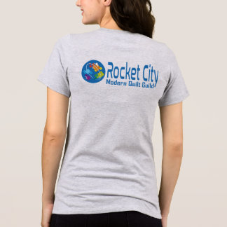 Rocket City Modern Quilt Guild Logo Women's Tee