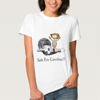 Rocket Cowboy Tee Shirts