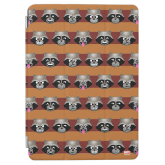 Rocket Emoji Stripe Pattern iPad Air Cover