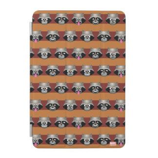 Rocket Emoji Stripe Pattern iPad Mini Cover