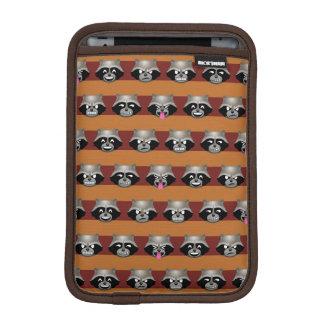 Rocket Emoji Stripe Pattern iPad Mini Sleeve