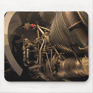 Rocket Engine Mouse Pad
