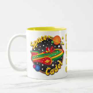 Rocket Express Space Cadet Mug Design