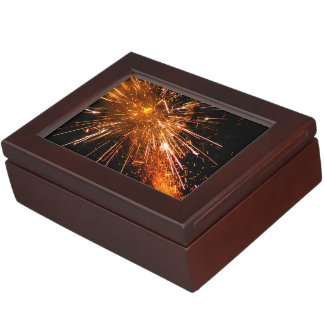 Rocket Fireworks Keepsake Box