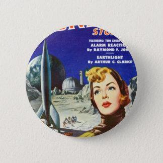 Rocket Girl 2 Inch Round Button