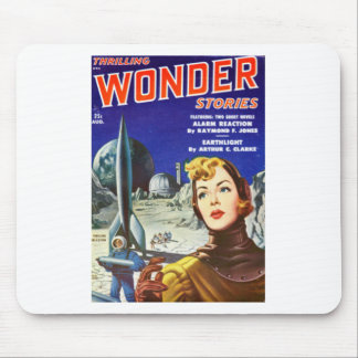 Rocket Girl Mouse Pad