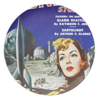 Rocket Girl Plate