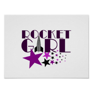 Rocket Girl Poster