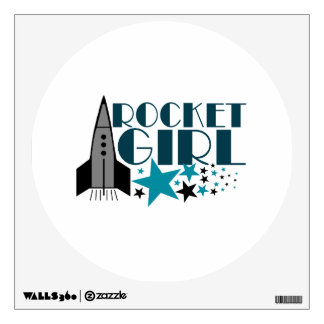 Rocket Girl Wall Decal