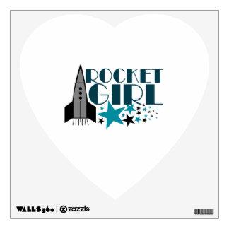 Rocket Girl Wall Sticker