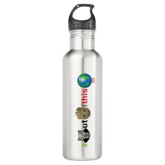Rocket & Groot #outofthisworld Emoji 710 Ml Water Bottle