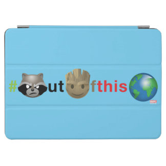 Rocket & Groot #outofthisworld Emoji iPad Air Cover