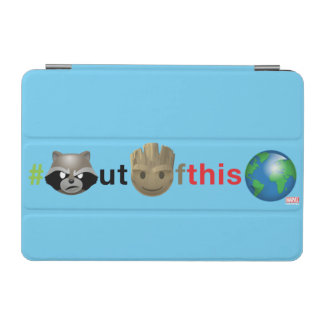 Rocket & Groot #outofthisworld Emoji iPad Mini Cover