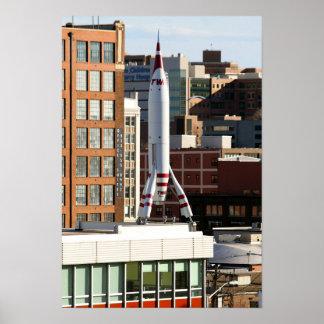 Rocket in Kansas City, Missouri Poster