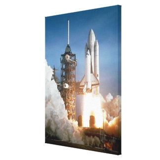 Rocket Launch Canvas Print