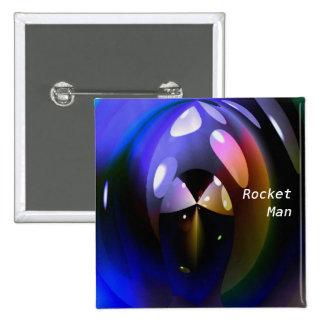 Rocket Man Button