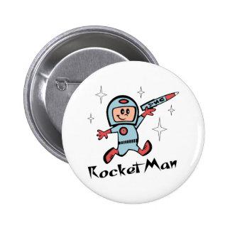 Rocket Man Buttons