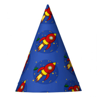 Rocket Party Hat