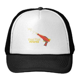Rocket Pistol Power Trucker Hat