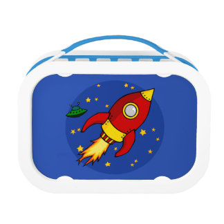 Rocket red Lunchbox