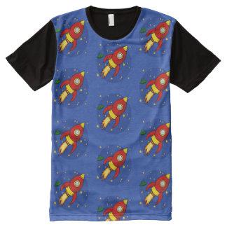Rocket red pattern Men's T-shirt