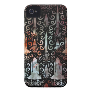 Rocket Science Damask iPhone 4 Cases