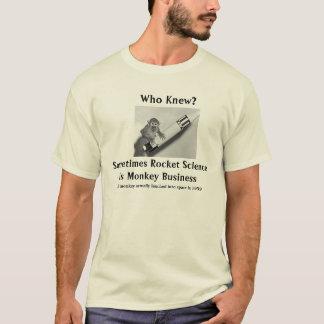 Rocket Science is Monkey Business T-Shirt