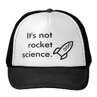 Rocket Science Trucker Hat
