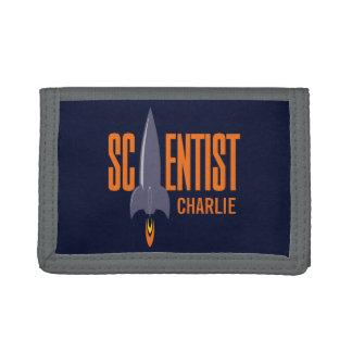 Rocket Scientist custom name wallets