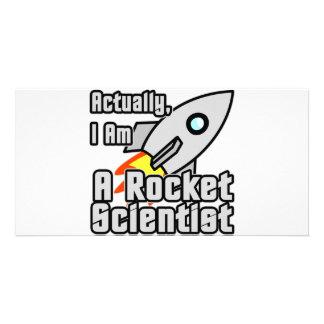 Rocket Scientist Photo Cards