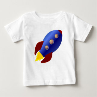 Rocket Ship Baby T-Shirt