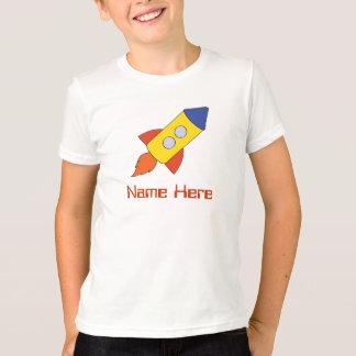 Rocket Ship Birthday Party Shirt