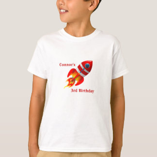 Rocket Ship Kid's T-Shirt