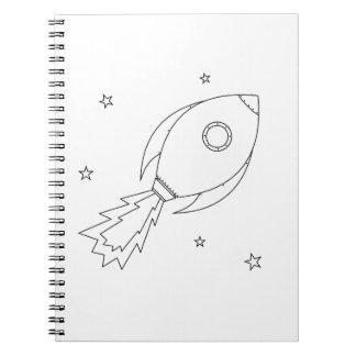Rocket Ship Notebooks