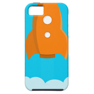 Rocket Ship Taking Off Case For The iPhone 5