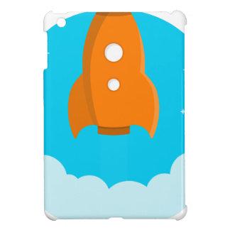 Rocket Ship Taking Off iPad Mini Cases