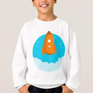 Rocket Ship Taking Off Sweatshirt
