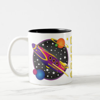 Rocket Ship X12 Mug Design