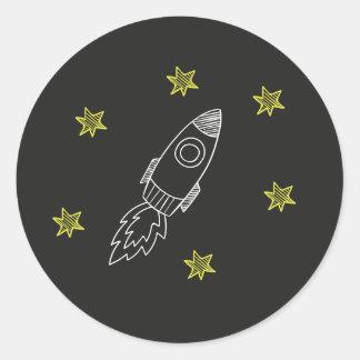 Rocket Sticker