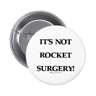 Rocket Surgery 2 Inch Round Button
