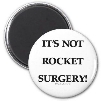 Rocket Surgery 2 Inch Round Magnet