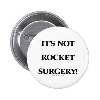 Rocket Surgery Pinback Buttons