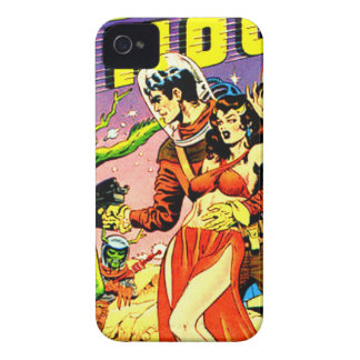 Rocket to the Moon Case-Mate iPhone 4 Cases