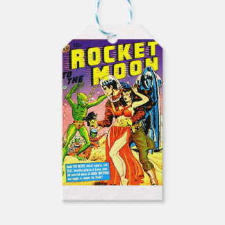 Rocket to the Moon Gift Tags