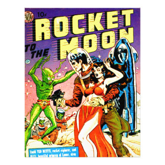 Rocket to the Moon Letterhead