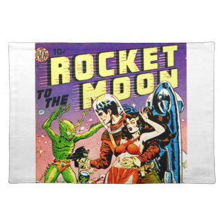 Rocket to the Moon Placemat