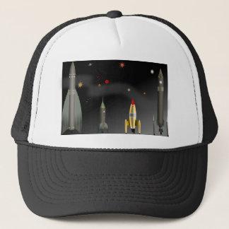 rocket trucker hat