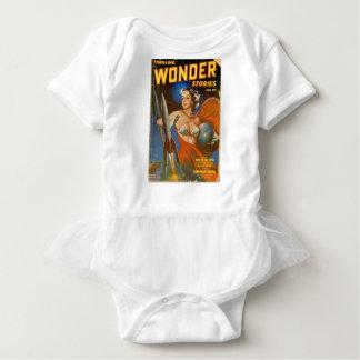 Rocket Woman Baby Bodysuit